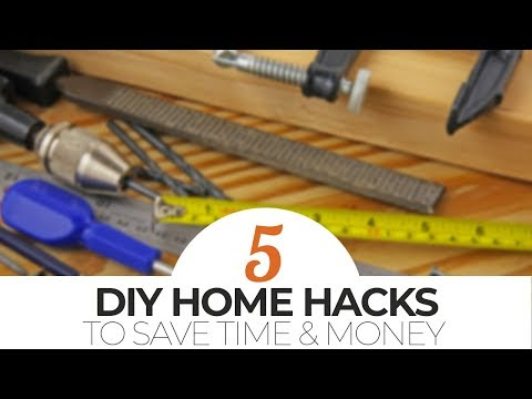 TOP 5 DIY Home Hacks to Save Time & Money