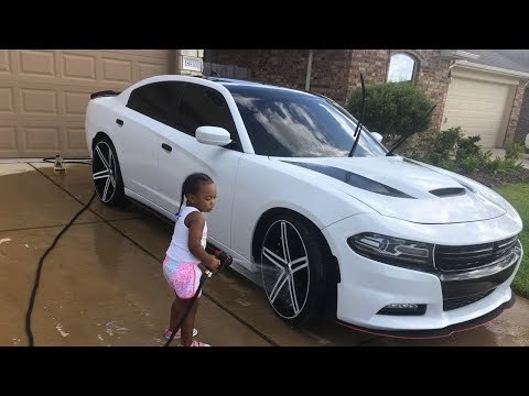 HOW TO WASH YOUR CUSTOM RIMS 1ON1