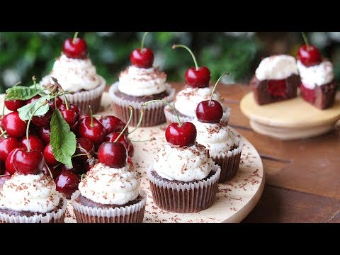Black Forest Cupcakes Recipe | How Tasty Channel