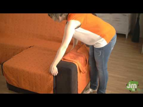 How to Put an Universal Chaise Sofa Cover
