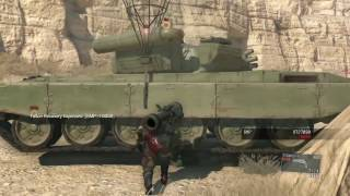How to Properly Extract a Tank in MGS5
