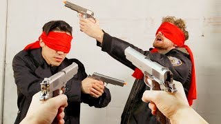 Download BLIND Mexican Standoff Is Hilarious! Video