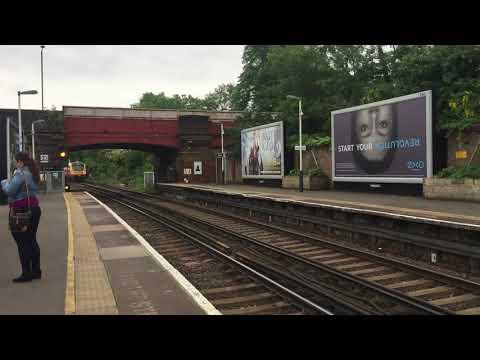 2 South Western Railway Trains at Richmond