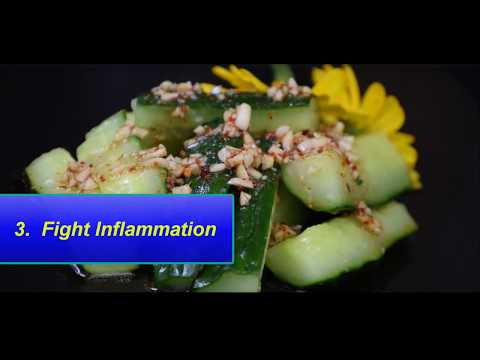 9 Reasons Why You Need to Eat Cucumbers||Food bank