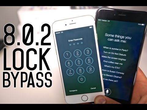 How To Bypass iOS 8.0.2 LockScreen & Access iPhone 6 Plus, 6, 5S, 5C, 5 & 4S.
