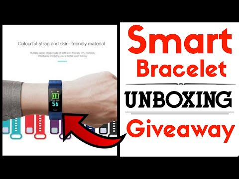 Goral Y5 Bluetooth Smart Wristband Unboxing review and Giveaway