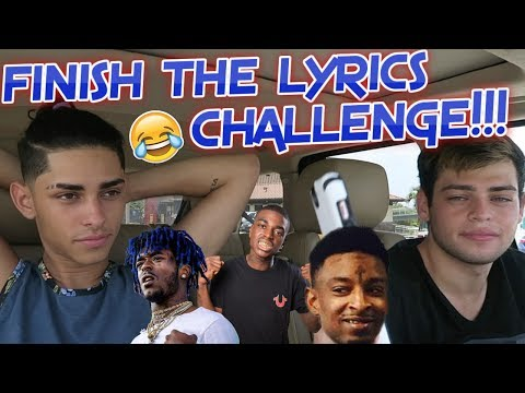 FINISH THE LYRICS CHALLENGE !!! - Flamingeos *try not to laugh*