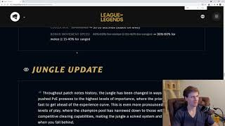 League of Legends Patch notes 11.10 with Hashinshin!