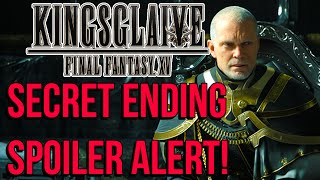KINGSGLAIVE FINAL FANTASY XV Secret Ending (Spoilers)