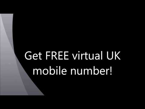 How to- Get Virtual UK mobile number [Call & Text Forwarder] for FREE in ANY country.