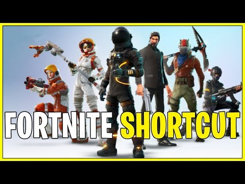 How to make a direct shortcut for Fortnite.