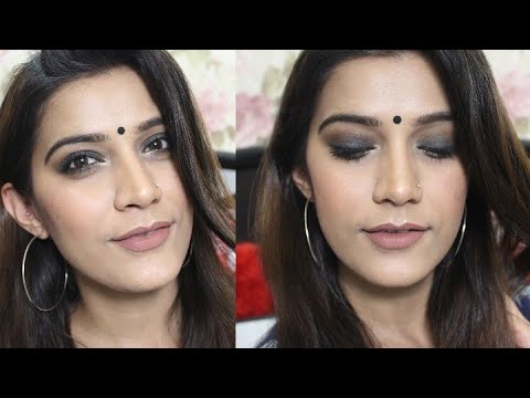 Indian Makeup Tutorial | Soft Smokey Eyes | Super Style Tips