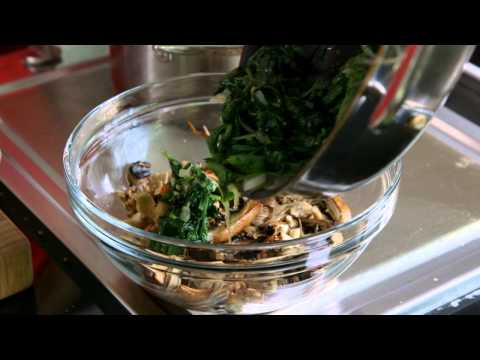 Spinach & Mushroom lasagne