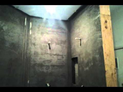 Float a shower. Video 4