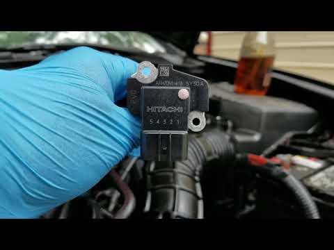 03-06 Honda accord mass air flow sensor replacement