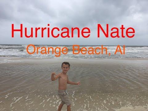 Hurricane Nate: Orange Beach, Al