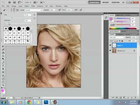 Change hair color using Adobe Photoshop CS5