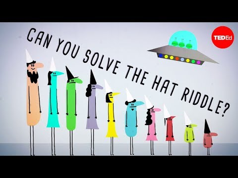 Can you solve the prisoner hat riddle? - Alex Gendler