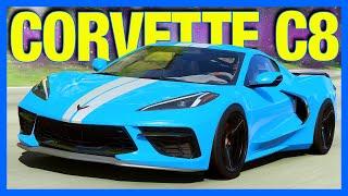 Forza Horizon 4 : 1500 Horsepower Corvette C8!! (FH4 How To Unlock Corvette C8)