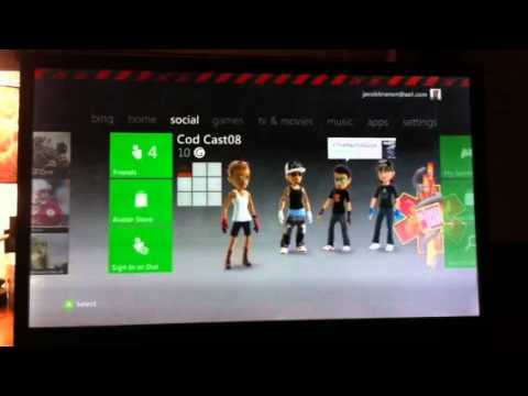 HOW TO change your THEME on XBOX 360 NEW UPDATE