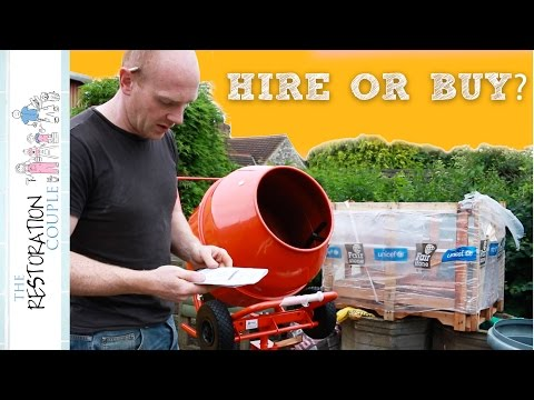 New Cement Mixer Assembly and Trial Run | TRC Show and Tell