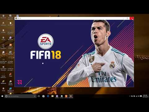 how to start fifa 18 in laptops with Directx 9/10 instead of 11.