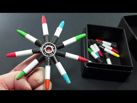 | DIY | Fidget Spinner using Paper Bullets-Easy Tutorial-by Dr. Origami
