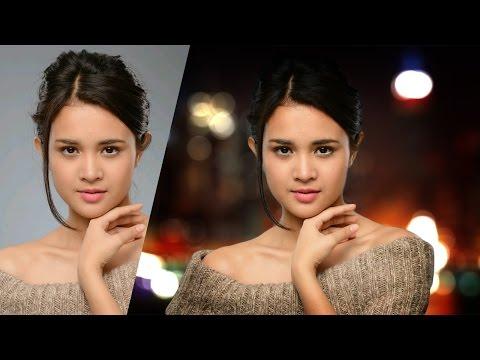 Tutorial Photoshop » Efek Background Blur Dan Bokeh Tanpa Lensa
