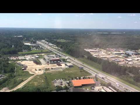 Landing At Savannah/Hilton Head International Airport (SAV)