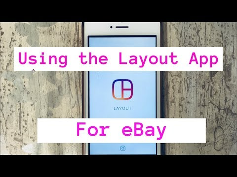 How to use the Layout app for listing on eBay with your iPhone