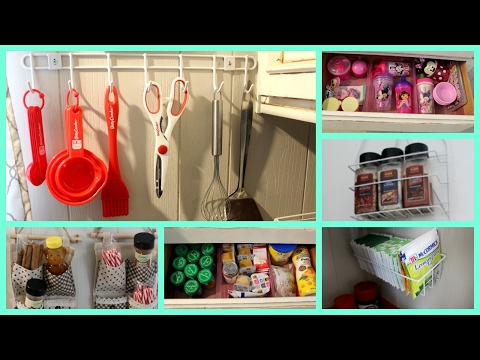 Easy Dollar Store Kitchen Organization Ideas!