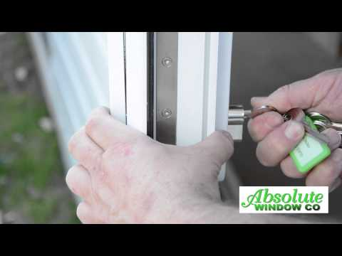 How To Change A uPVC French Door Cylinder