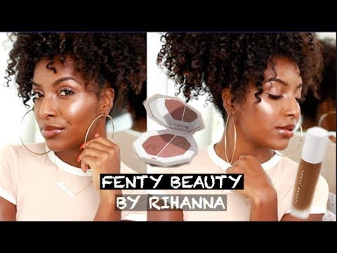 FULL FACE OF FENTY BEAUTY! (YASSS RIHANNA!!!)