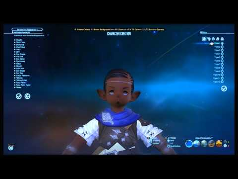 PS4 - FFXIV: A Realm Reborn Beta - Character Creation [HD]
