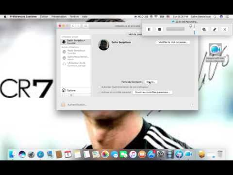How to change user names for macbook Pro!