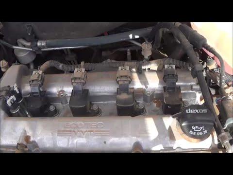2008-2012 Chevrolet Malibu 2.4L (LE5) spark plug change