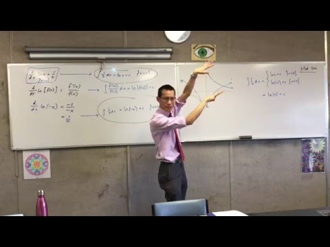 Integration of Logrithmic Functions (Purpose of the Absolute values in the Integral)