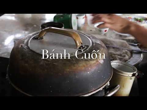 Bánh Cuốn - Vietnamese Steamed Rice Rolls