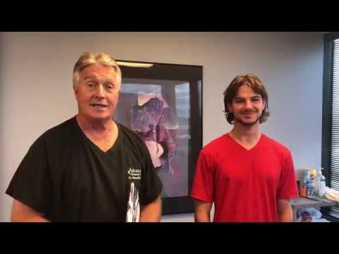 Houston Chiropractor Dr Gregory Johnson Adjust Los Angeles Man With Caution Warning