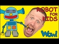 Robot For Kids Playing With Steve And Maggie English Stories For Children Wow English TV