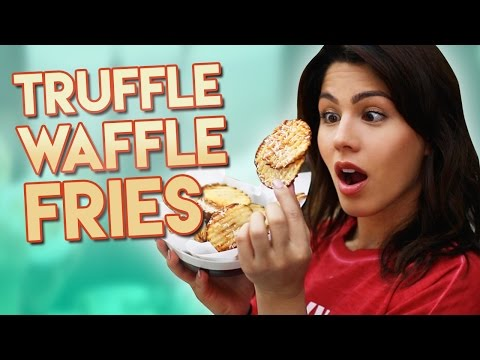 How to Cook: Truffle Waffle Fries
