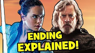 Star Wars The Last Jedi ENDING EXPLAINED, Easter Eggs + Episode 9 Theory