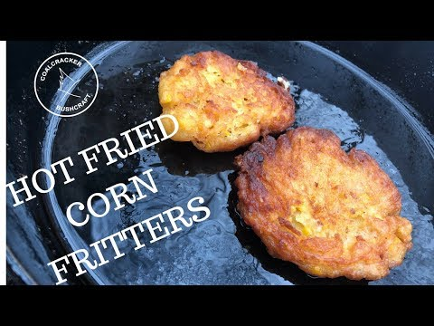 Cookin' with Coalcracker: Corn Fritters