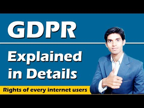 What is GDPR Explained in Details | General Data Protection Regulation