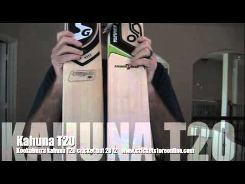 Kookaburra kahuna T20 cricket bat, or is it a SG stud T11i bat?? who knows...