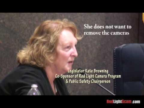 10/29/2015: Suffolk County Legislator Kate Browning Lies about Red Light Camera Program