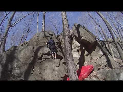 Rock Climbing Sleeping Giant