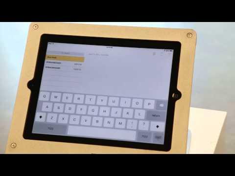 Accessing the iOS Virtual Keyboard, iPad