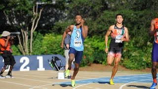 UNC Track & Field: Ceo Ways Wins 400M at ACC Championships