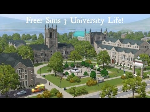 [MAC] How To Install The Sims 3 University Life Free